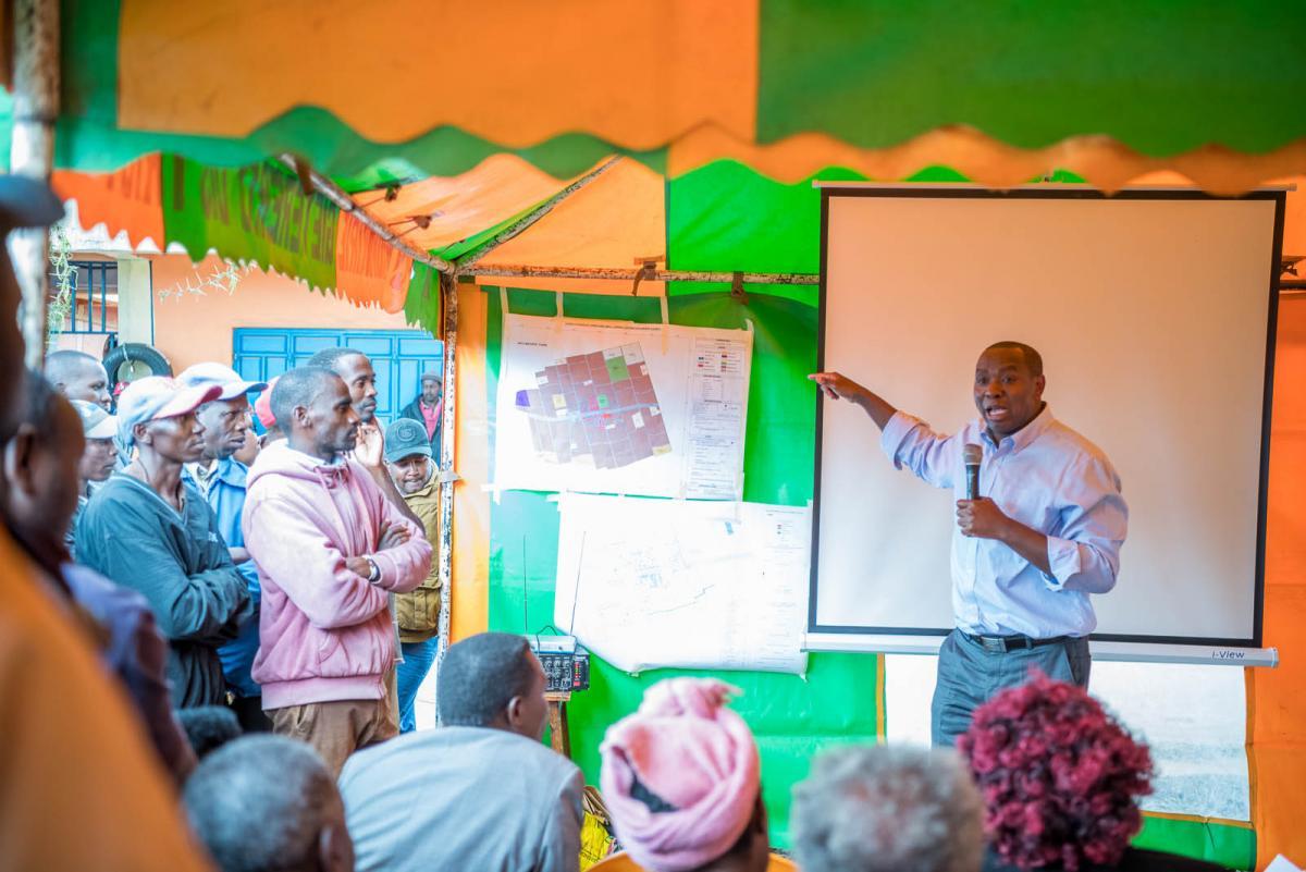 Wiyumiririe Smart Town Citizen engagement.