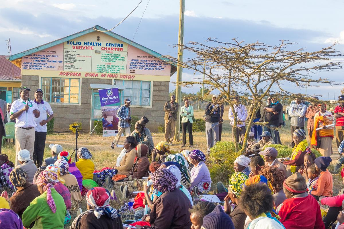 Universal Healthcare Campaign Held Across laikipia County