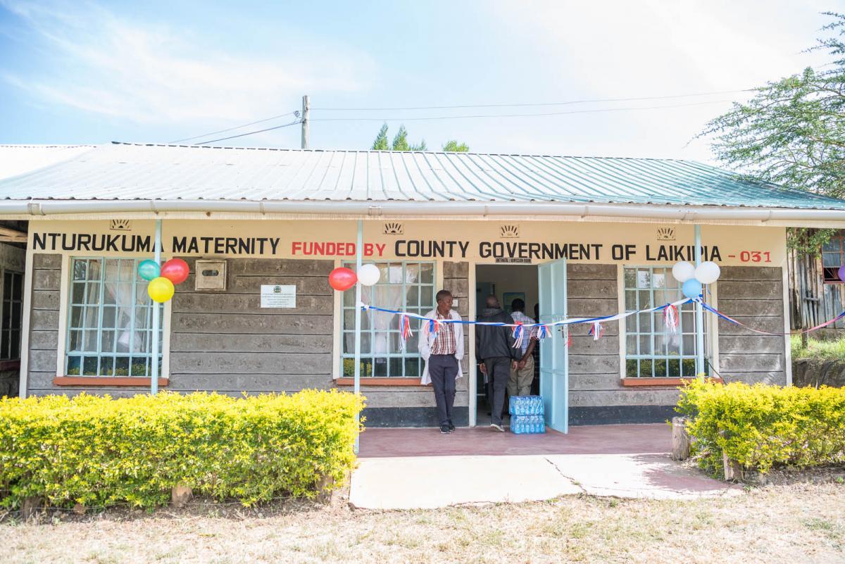 Nturukuma New Maternity Center Now Opened.