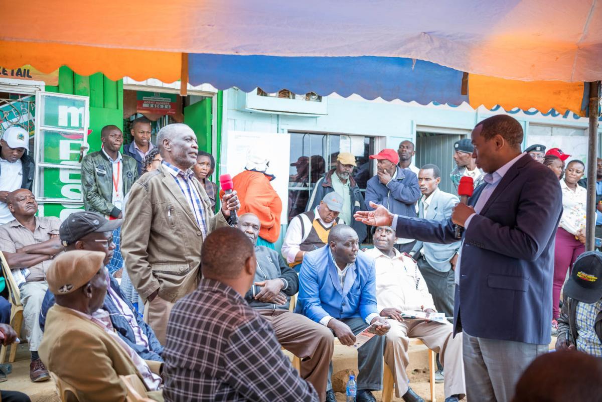 Kinamba Town Inspection & Public Participation
