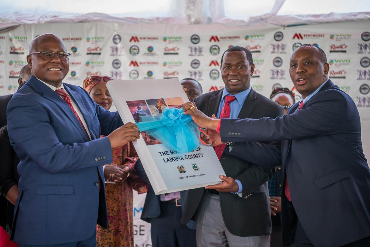 mining conference and launch handover
