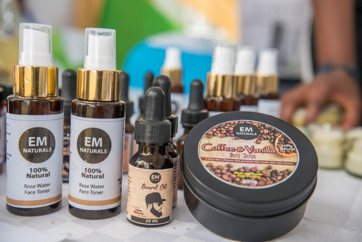 Some of the products on Exhibition Stands at the Mining Conference laikipia 2020
