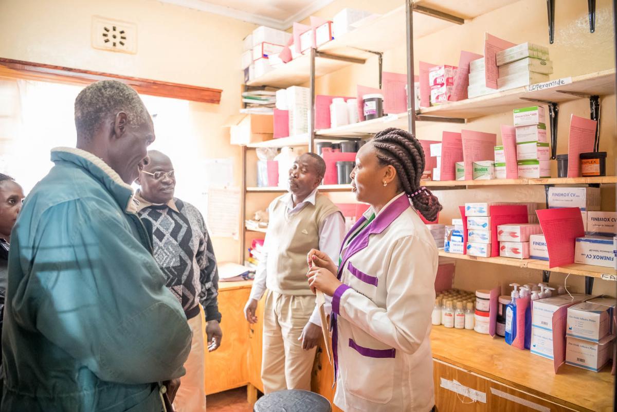 Likii and Kalalu dispensary pharmacy store