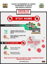 Stay Home to protect our elderly population