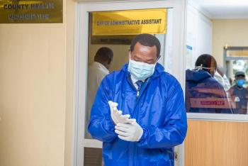 #DefeatingCoronaVirus: First Consignment Of PPEs, Gowns and Masks.
