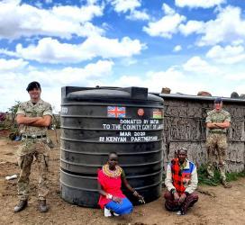 Hand Washing tanks Donation