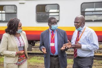 Economic Front, Rehabilitation of Nanyuki-Nairobi Rail accelerated.