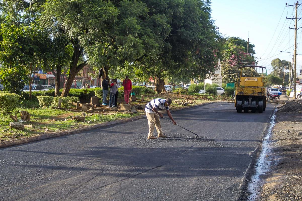 On going Maintenance of Lenana Ukumbusho - D.C Gate Phase 2