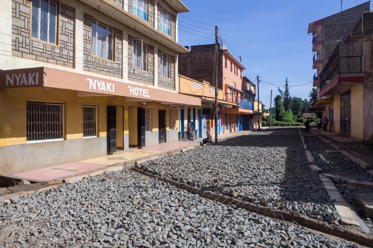 Periodic Maintenance of C77 Junction,Liberty Petrol Station,Nyaki Hotel & Agakhan Hospital Road in Nyahururu