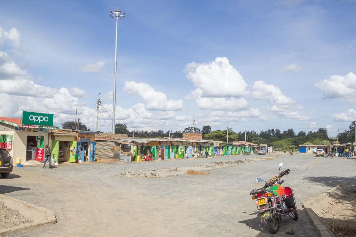 Upcoming Rumuruti Bus Park