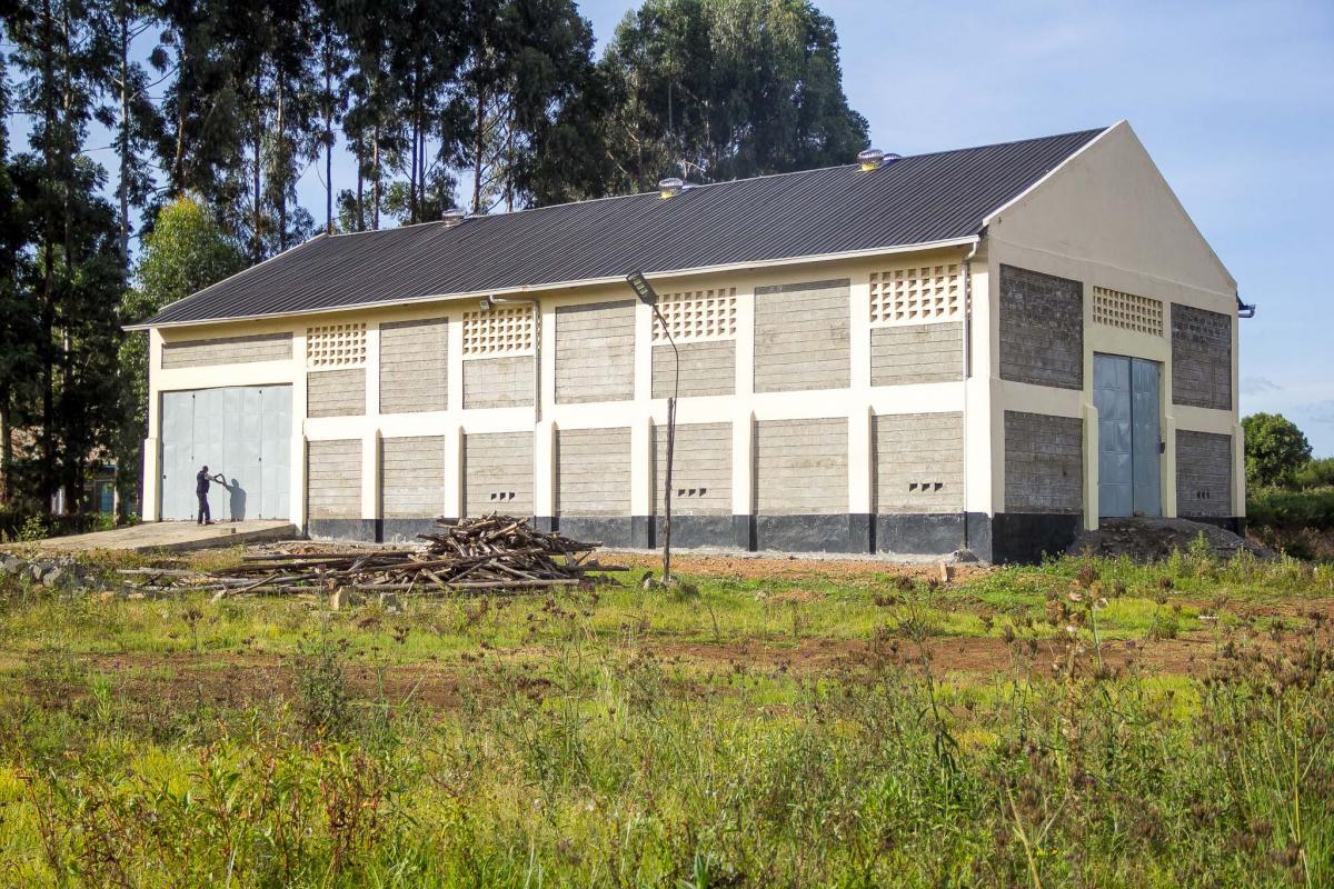 Upcoming Mutanga Maize Storage Facility