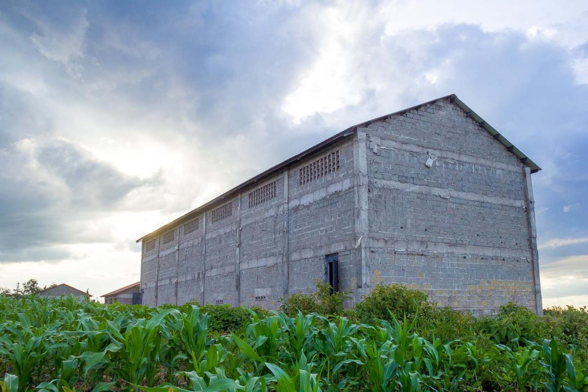 Upcoming Kinamba Maize Storage Facility