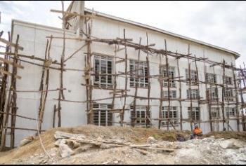 Mother Child Facility taking shape in Nanyuki..