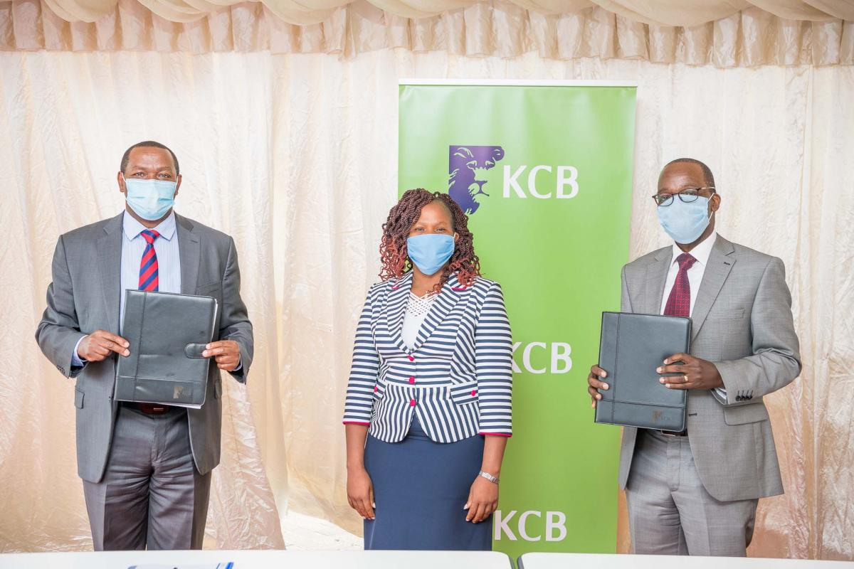 Laikipia County & KCB Group sign an SME credit guarantee MOU to avail up to KES 2 Billion.