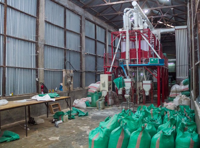 Laikipia county has built two grains stores & revived two millers to complete the chain.