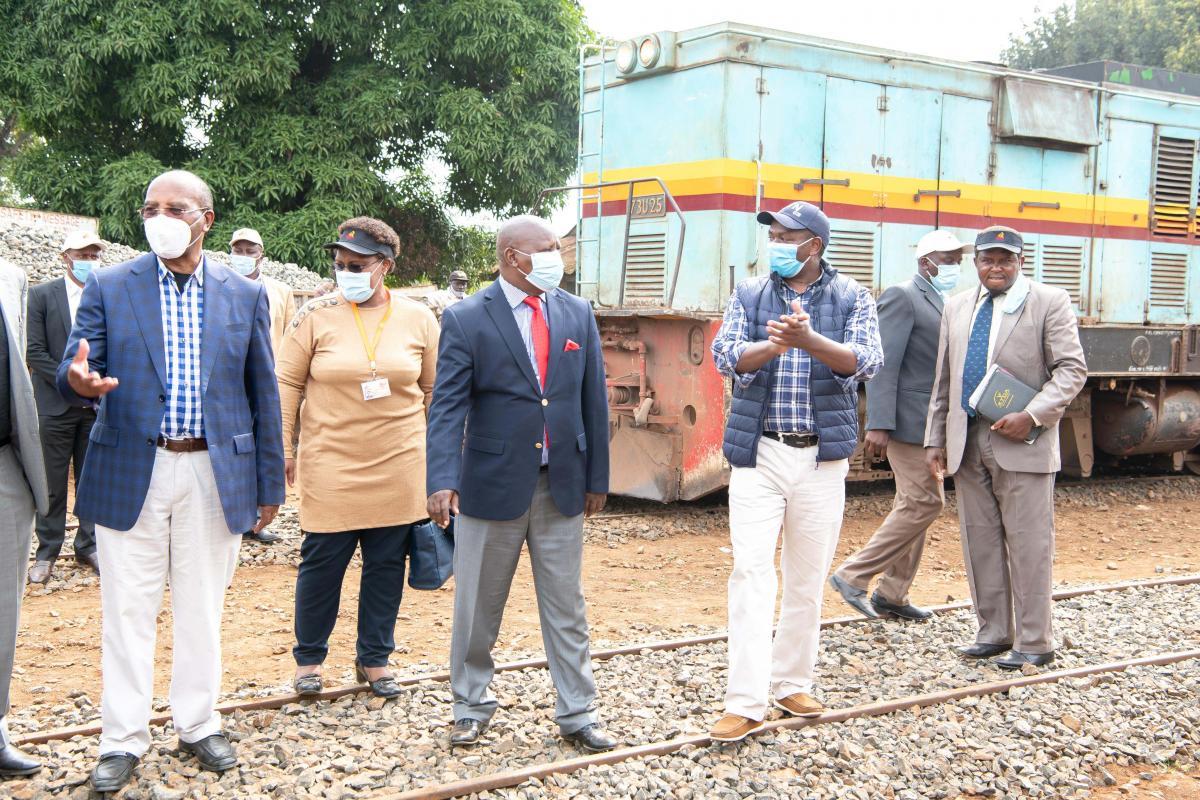 Governor Ndiritu, Governor Kahiga, and CEREB Chair Governor Francis Kimemia engage business community with the roll out of the Nanyuki- Nairobi Railwa
