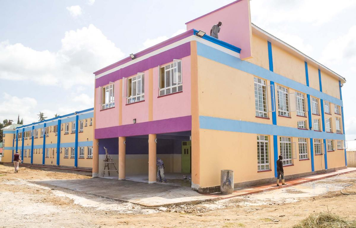 Upcoming Mother-Child Healthcare Complex, Nanyuki Teaching and Referral Hospital
