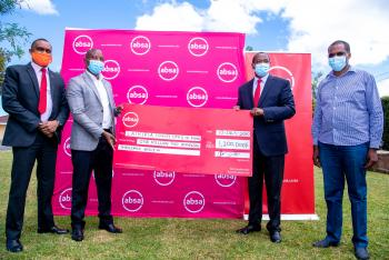 Absa Banks Injects Ksh. 1.3 million to Support Laikipia Emergency Fund