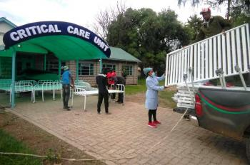 Laikipia VTCs Supplying Hospital Beds
