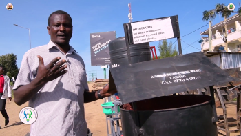 Nanyuki SME Manufactures Incinerators To Manage Medical Wastes